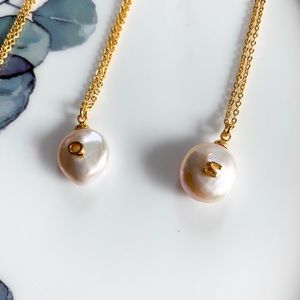 17Basics Baroque Freshwater Pearl Necklace - Q